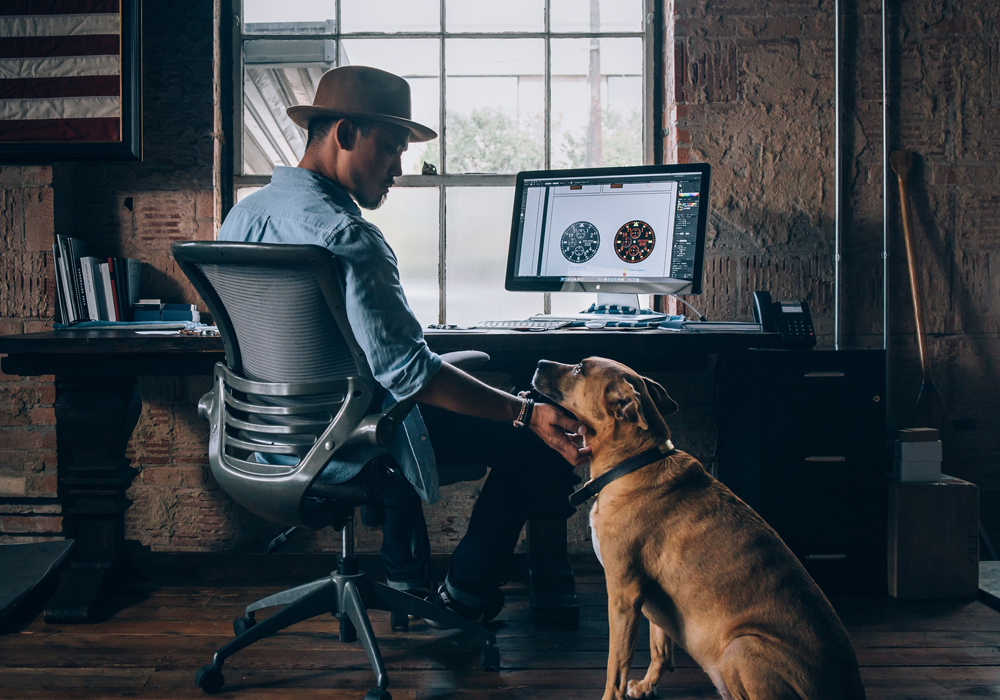 Office Dog Blog Featured Image - Blue Zebra Talent